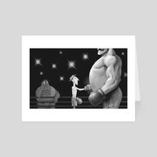 Buster Keaton - Art Card by Harrison Pyle