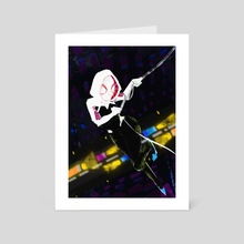 SpiderGwen - Art Card by Dáire  Lawlor