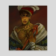 Prince Mista - Canvas by Bunny Lune