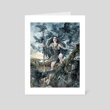 Morrigan - Art Card by Amelia Leonards