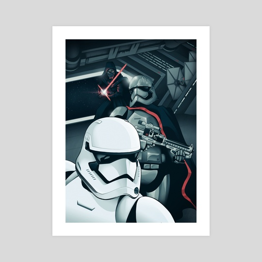The Force Awakens: The Dark Side by Cameron Lewis