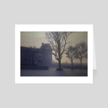 Paris Haze - Art Card by Jesse Hitchens