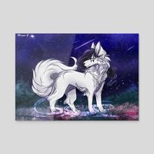 Don't Trust A Fox - Acrylic by Meriza Gomez