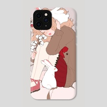 bunny - Phone Case by vacuum