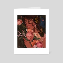grace - Art Card by Loohni