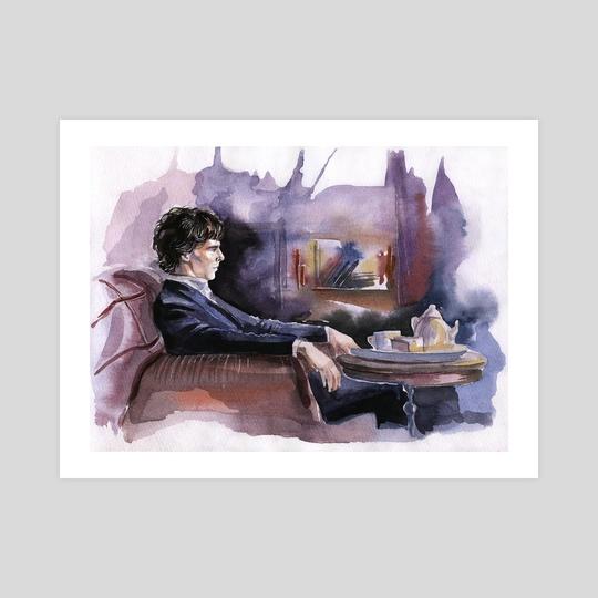 Sherlock Holmes by Alina Mozzherina