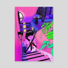 Midnight_Demons - Canvas by Vinne.art