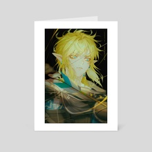 Link BOTW2 - Art Card by theCecile