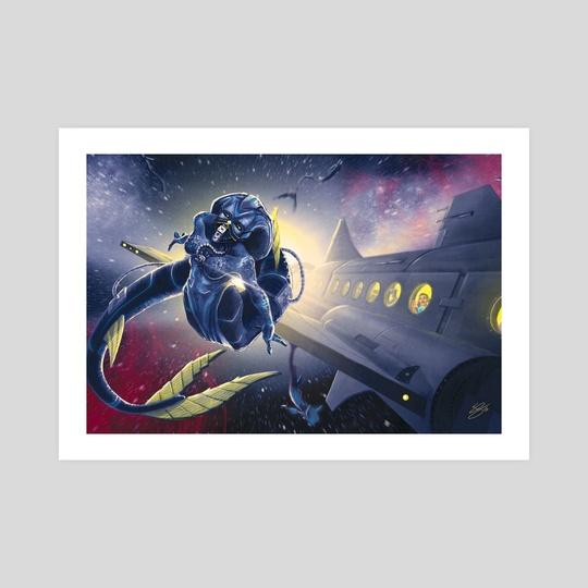 Space Mermaid by Eric Summers