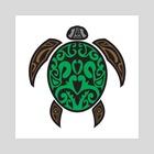 turtle  - Art Print by Zam Elinson