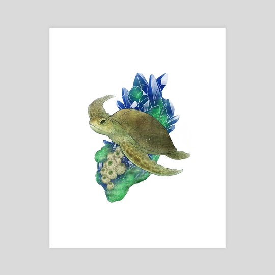 Sea Turtle by Lunaria Gold