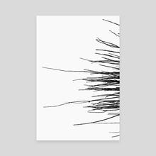 sticks - Canvas by Brock Wilson