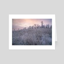Winter Landscape #1 - Art Card by Vitali Pikalevsky