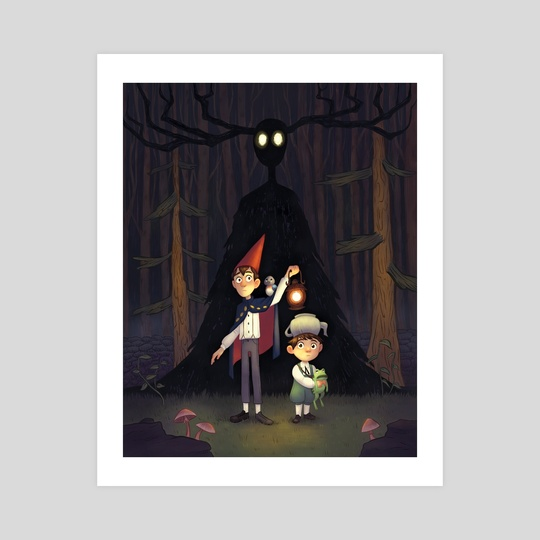 Over the Garden Wall by Alyssa Tallent
