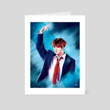 Jungkook - MAMA 2019 - Art Card by Elli