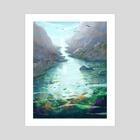 Tide Pool Light - Art Print by Skylaar Amann