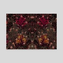Vintage pattern 61 - Canvas by Michal Eyal