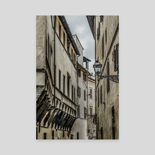 Houses at Historic Center of Florence, Italy - Canvas by Daniel Ferreira Leites