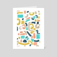 Alphabet Soup - Art Card by 83 Oranges