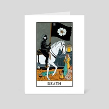 Death - Modern Witch Tarot - Art Card by Lisa Sterle