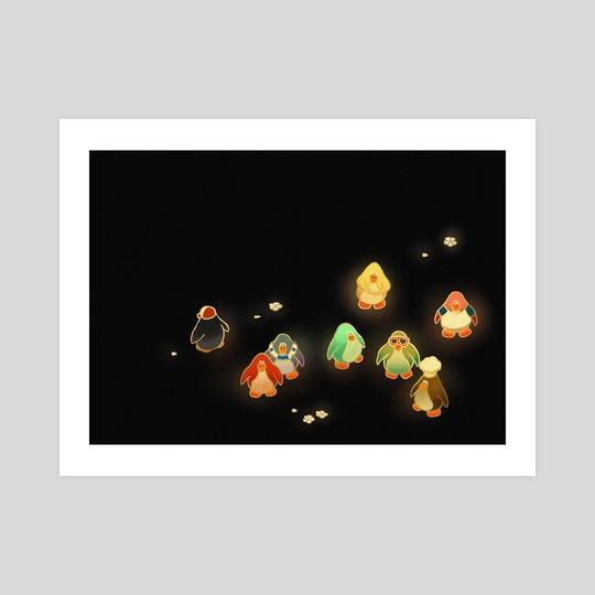 Penguins by Hayley Hanyuda Wong