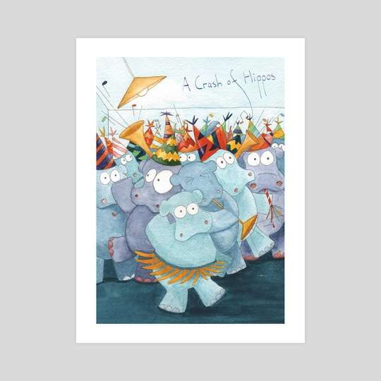 A Crash of Hippos by Lucy Reynolds