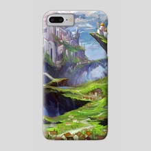 City fantasy - Phone Case by Cristiana Grati