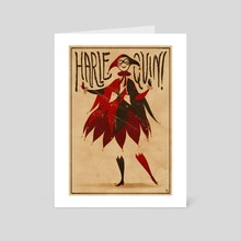 Harlequinade - Art Card by Claire Hummel