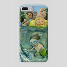 Summer River - Phone Case by Stephanie Gobby