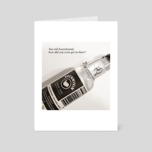 Boozehound - Art Card by Moosey Lips