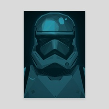 "STARWARS ""The Force Awakens"" Stormtrooper - Canvas by ANDRESZEN"