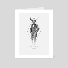 The Gentleman - Fabel World Series  - Art Card by Raditya Sanjaya