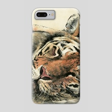 Tiger - 48 - Phone Case by River Han