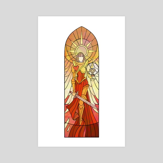 St Alicia Dominica  by Ayla Meridian