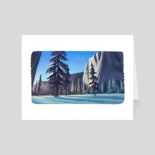 Yosemite National Park - Day 77 - Art Card by Kellie Nicely