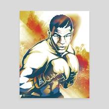 Mike Tyson - Canvas by Devon Myles