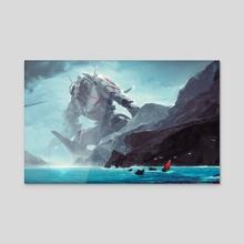 I seek the Leviathan - Acrylic by Liger Inuzuka