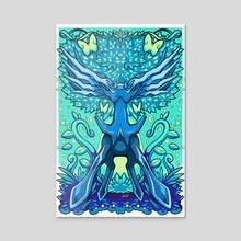 Xerneas  - Acrylic by Nicole Castanheira