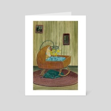Dragon Nursery - Art Card by Stephanie Gobby