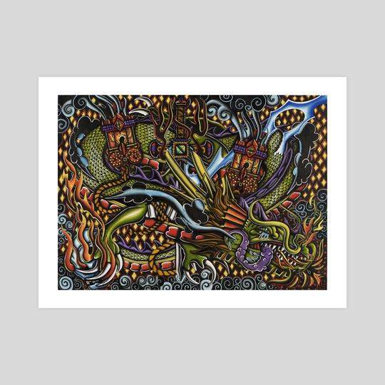 Dragon of the stars by Lorenzo Branca