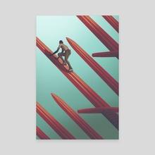 Precipice  - Canvas by Daniel Garcia