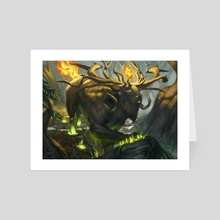 Marath, Will of the Wild - Art Card by Tyler Jacobson