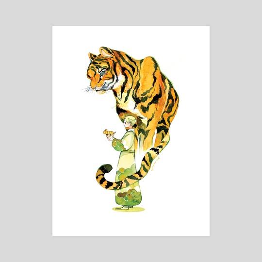 Paper Tiger by koyamori