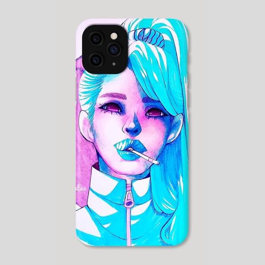 Blue girl by Isabella Isla