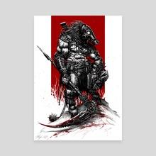 Survivor Slayer 2015 - Canvas by Austen Mengler
