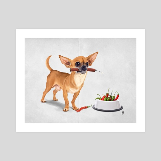 Spicy (wordless) by Rob Art