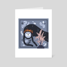 Household's ghost - Art Card by Vivvian