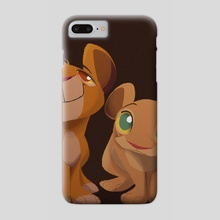 LIttle Troublemakers - Phone Case by Beth Hughes