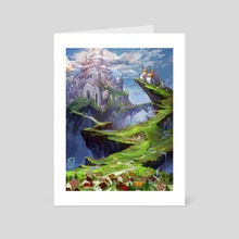 City fantasy - Art Card by Cristiana Grati