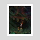 Mysterious Discovery - Art Print by Rouche Ben